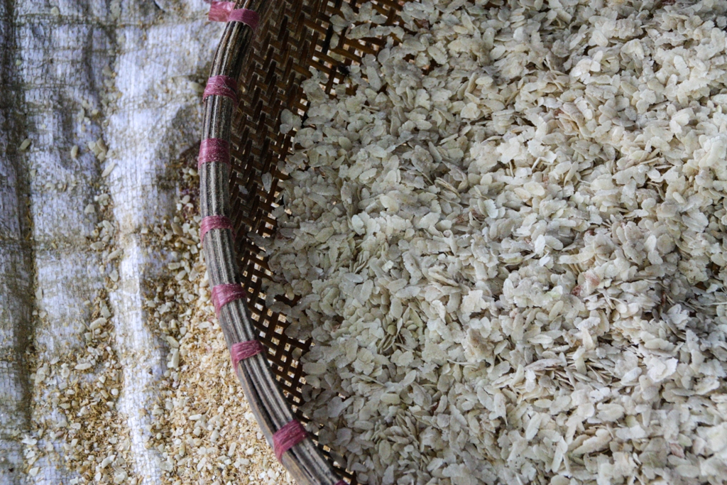 Flattened Rice in the Mekong Delta